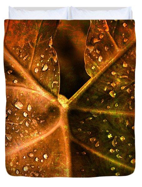 Dew Drops Duvet Cover by Susanne Van Hulst
