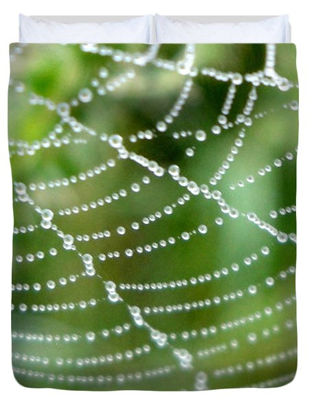 Dewdrops  Duvet Cover