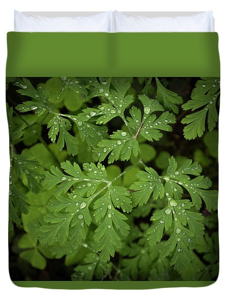 Dewey Leaves Duvet Cover