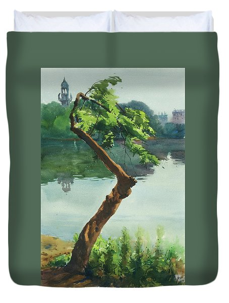 Dhanmondi Lake 03 Duvet Cover