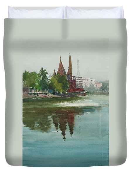Dhanmondi Lake 04 Duvet Cover