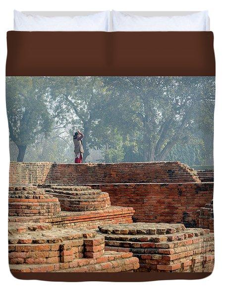 Dharma Chakra Jinavihara 02 Duvet Cover