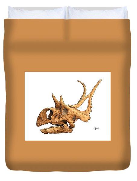 Diabloceratops Duvet Cover