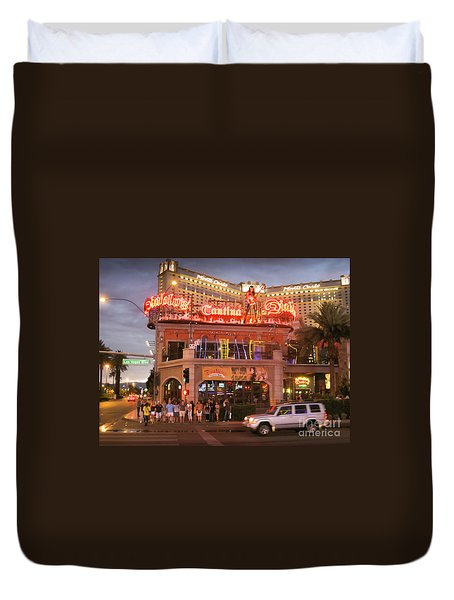 Diablo's Cantina In Las Vegas Duvet Cover by RicardMN Photography