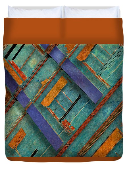 Diagonal Duvet Cover by Don Gradner