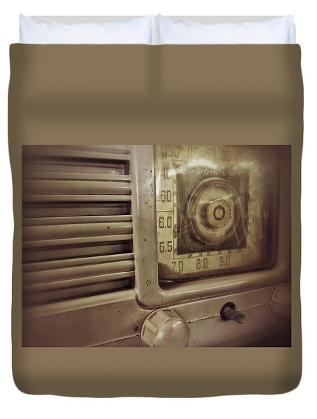Dialing In Duvet Cover by Olivier Calas