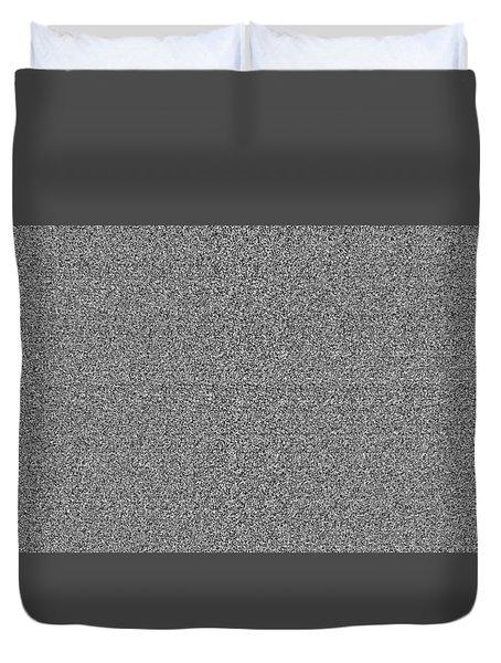 Diamond Dimension Doorway Duvet Cover