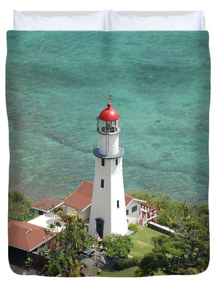 Diamond Head Lighthouse 2 Duvet Cover