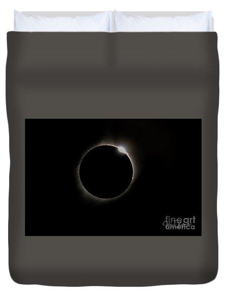 Diamond Ring Eclipse Duvet Cover