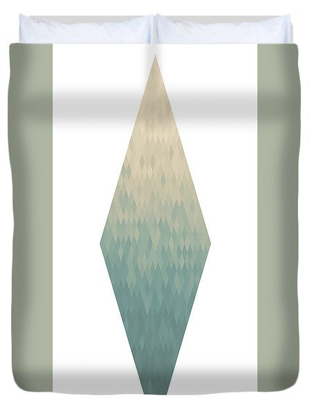 Duvet Cover featuring the digital art Diamonds by Kenny Glotfelty
