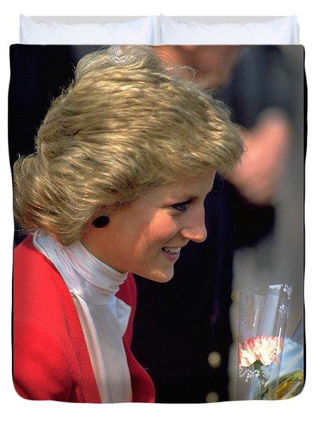 Diana Princess Of Wales Duvet Cover