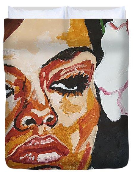 Diana Ross Duvet Cover