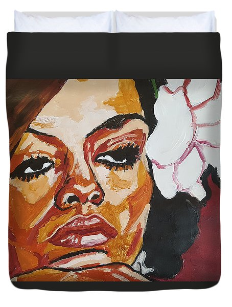 Diana Ross Duvet Cover