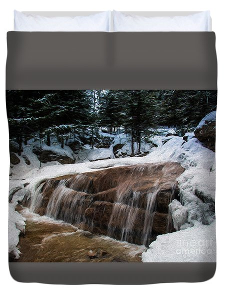 Diana's Bath Duvet Cover by Mim White