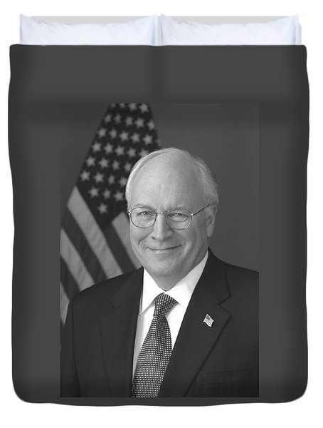 Dick Cheney Duvet Cover by War Is Hell Store