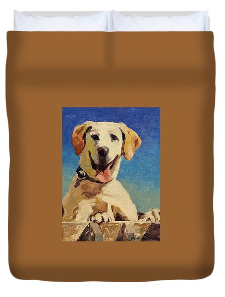 Did Someone Say Treat? Duvet Cover