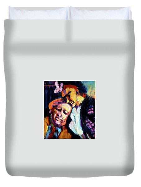 Diego And Frida Duvet Cover