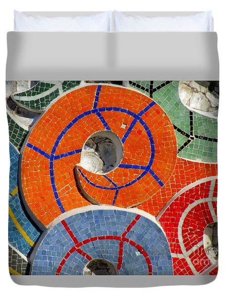 Diego Rivera Mural 8 Duvet Cover