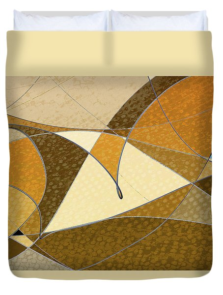 Diffusion Duvet Cover by Don Gradner