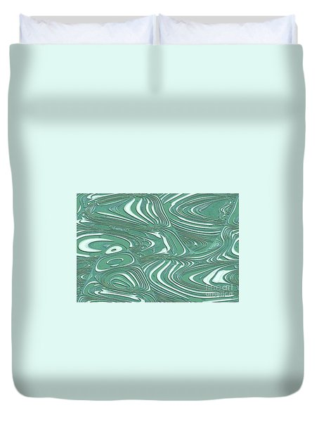 Duvet Cover featuring the photograph Digital Abstract by Marsha Heiken