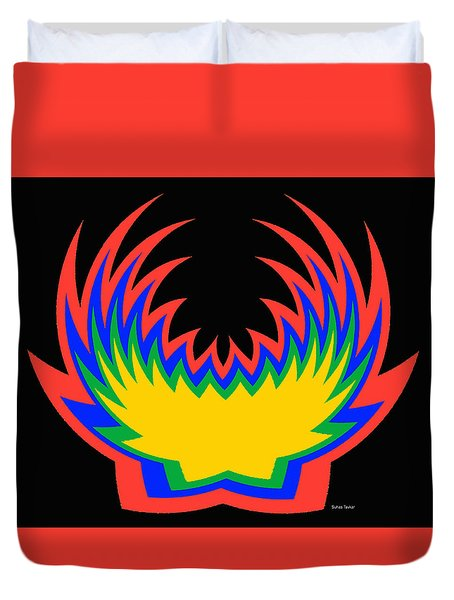 Digital Art 14 Duvet Cover by Suhas Tavkar