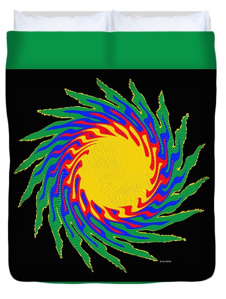 Digital Art 9 Duvet Cover by Suhas Tavkar