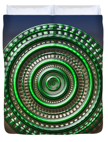 Digital Art Dial 3 Duvet Cover