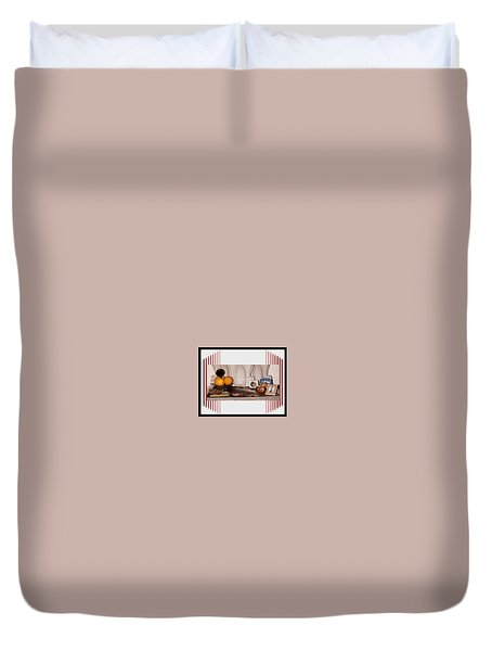 Digital Artwork Duvet Cover