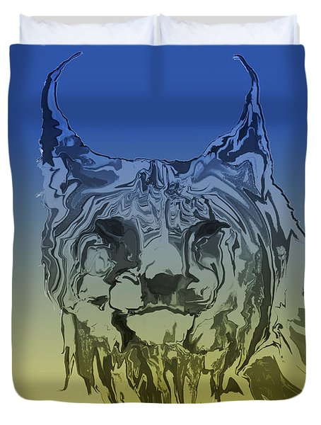 Digital Lynx 2 Duvet Cover
