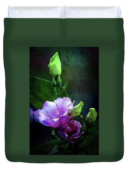 Digital Watercolor Elegance 3700 W_2 Duvet Cover