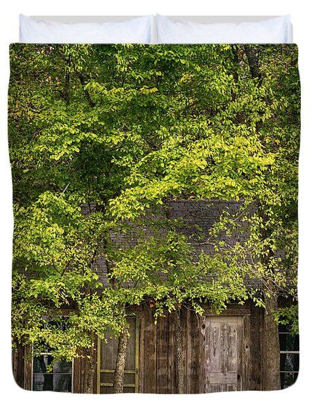 Dilapidated House Duvet Cover