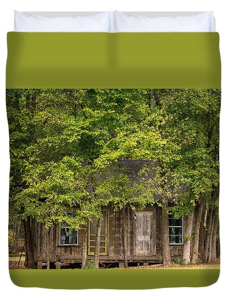 Dilapidated House Duvet Cover