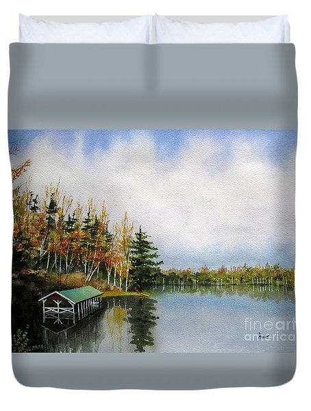 Dillman's Boathouse Duvet Cover