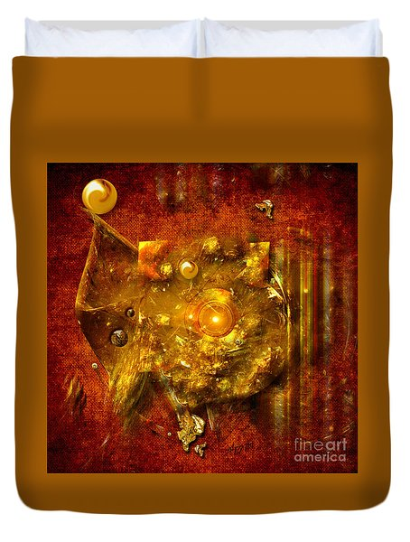 Dimension Hole Duvet Cover