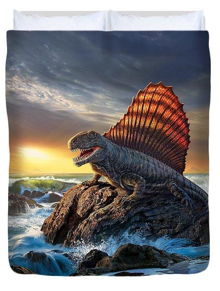 Dimetrodon Duvet Cover