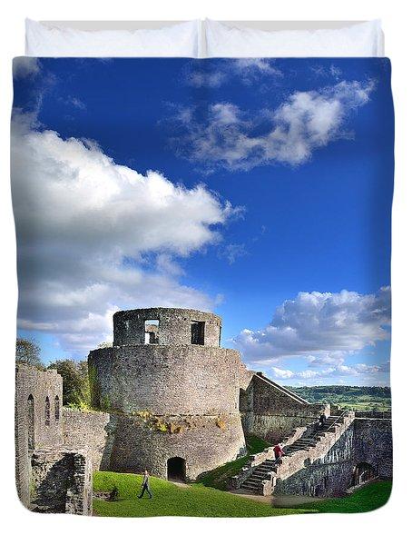 Dinefwr Castle 1 Duvet Cover