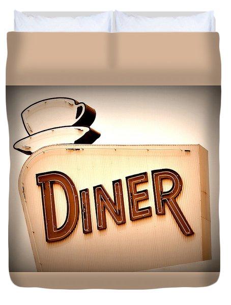 Diner Duvet Cover