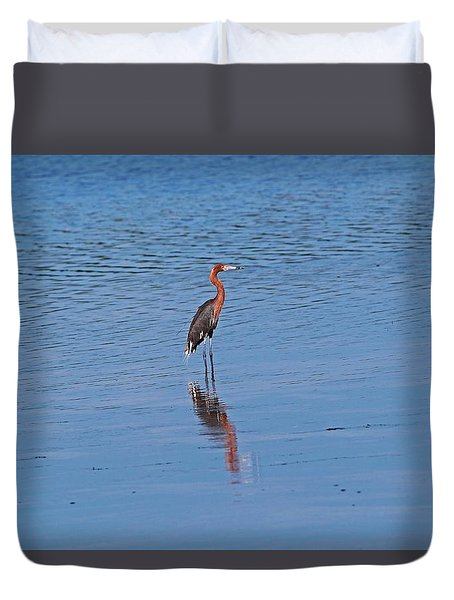 Duvet Cover featuring the photograph Ding Darling's Number One by Michiale Schneider