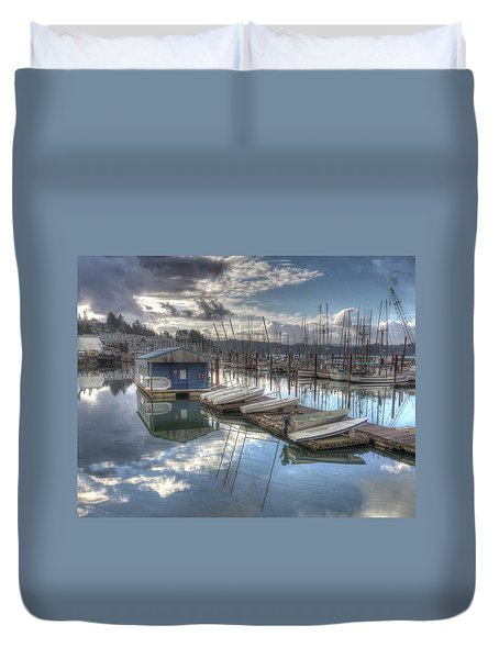Dinghies For Rent Duvet Cover