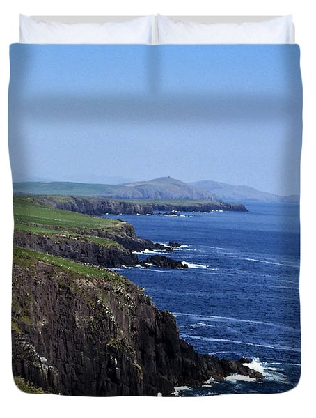 Dingle Coast Near Fahan Ireland Duvet Cover