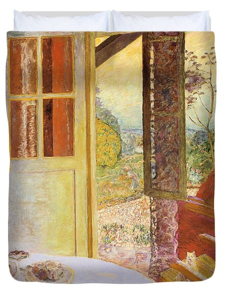 dining room in the country paintingpierre bonnard