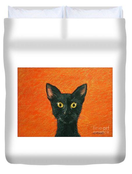 Dinner? Duvet Cover by Marna Edwards Flavell