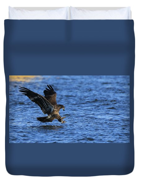 Dinner Run Duvet Cover by Coby Cooper