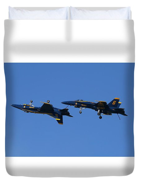 Duvet Cover featuring the photograph Dirty Angels by John King