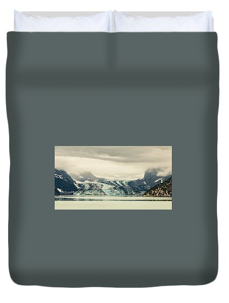 Dirty Glacier Duvet Cover