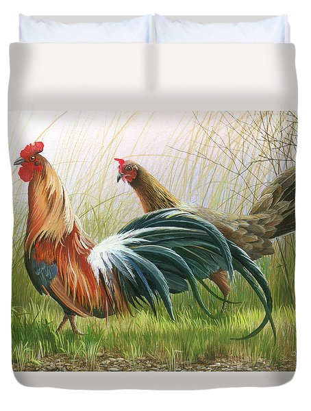 Disagreement Duvet Cover
