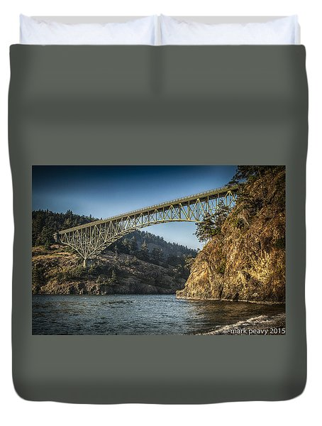 Disappointment Bridge Duvet Cover