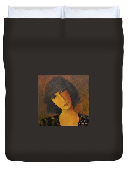 Disbelieving Duvet Cover by Glenn Quist