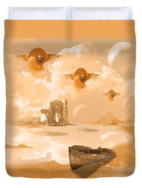 Discovery Duvet Cover