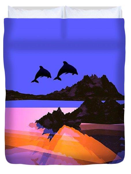 Discovery Duvet Cover by Robert Orinski